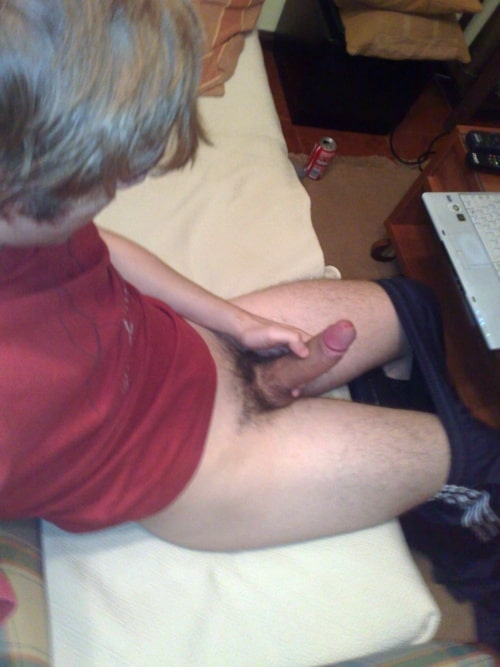 Uncut black cumshots long haired straight 7