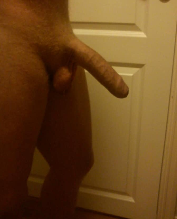 Picture Of A Nice Semi Hard Uncut Cock